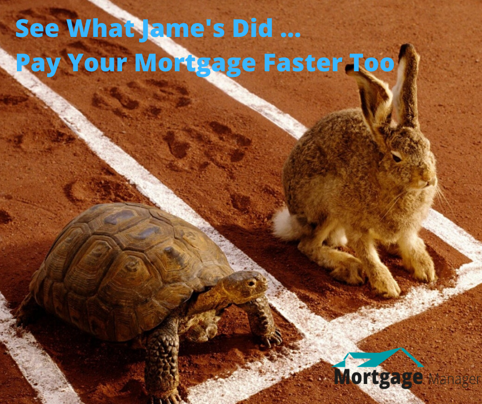 See How James Is Paying Off His Mortgage Faster