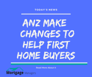ANZ Now Allow Low Equity Premiums To Be Added To Loans