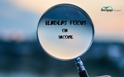Lenders Main Focus Now Is Your Income